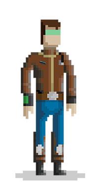 Pixel art videojuegos