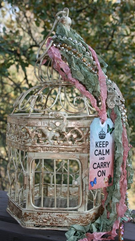 Bella maison tresors shabby paris cottage chic birdcages for Maison chic shabby chic