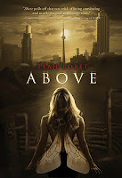 above by leah bobet book cover
