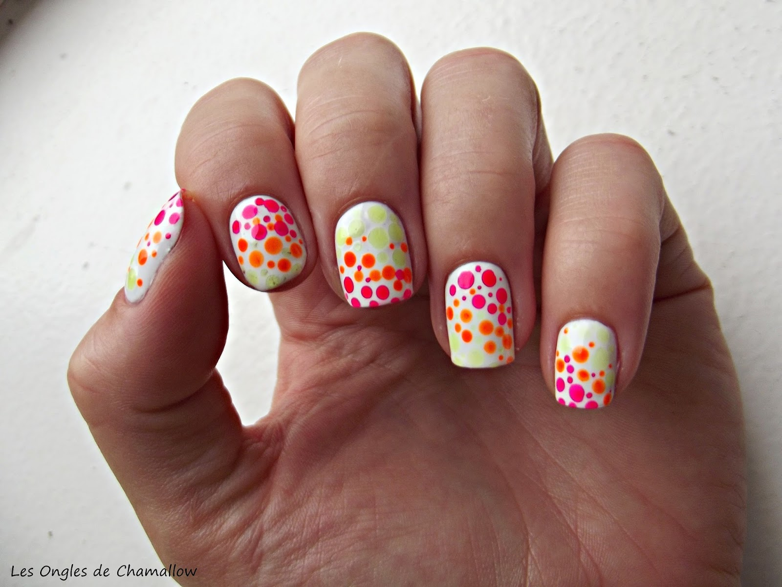 deco ongle a pois