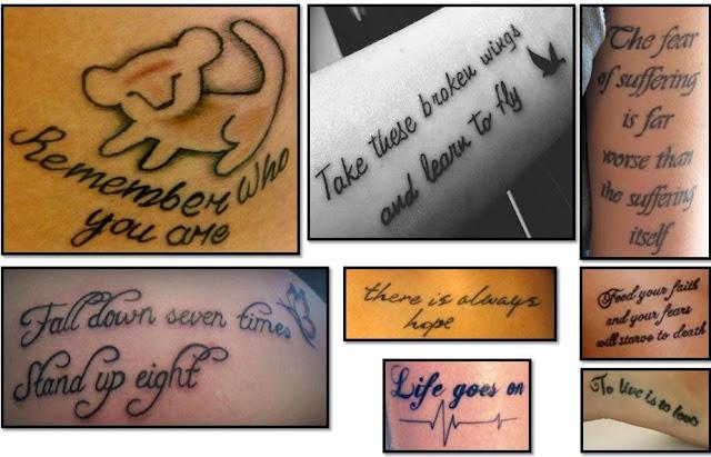tatuajes frases