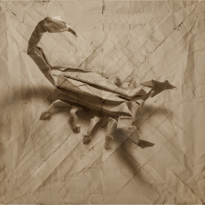 insecto escorpion 3D origami