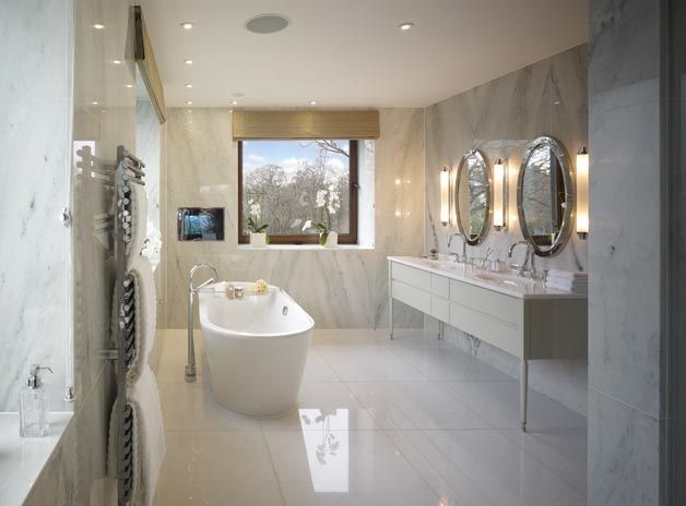 Cool Luxurious Marble in the Bathroom. Cool Luxurious Marble in the Bathroom    Frog Hill Designs Blog
