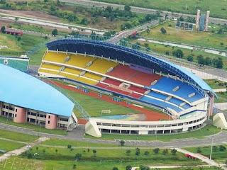 Pembukaan ISL di Palembang - Stadion Jakabaring