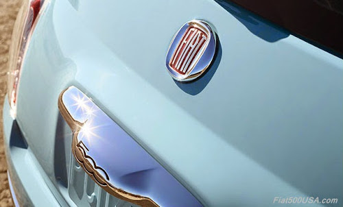 Fiat 500 1957 Edition Retro Fiat Badge
