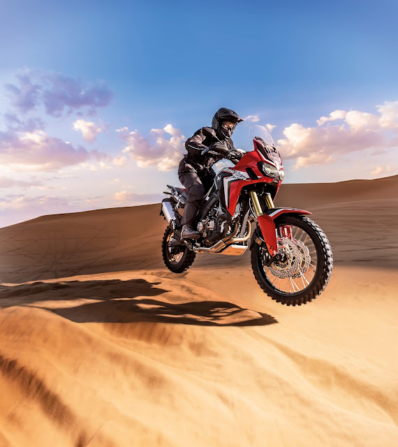 Η νέα 16MY Honda CRF1000L Africa Twin