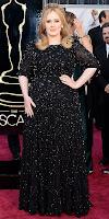 Адел на Оскари 2013 в блестяща дантелена рокля