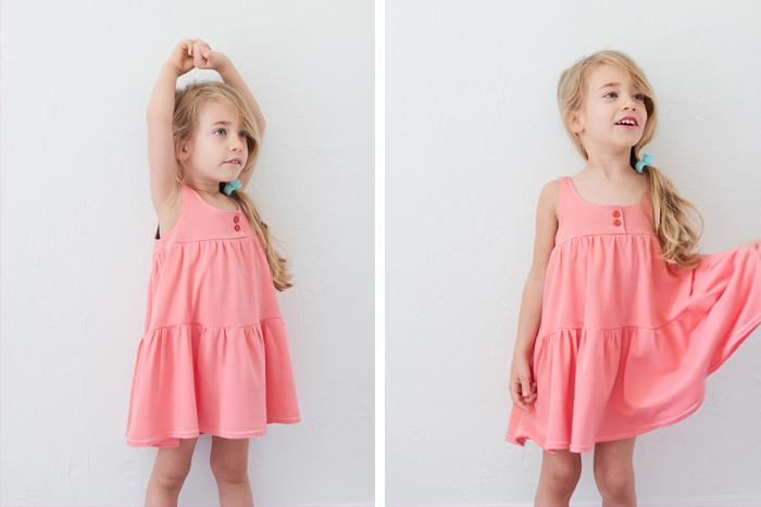 Платье из трикотажа своими руками для девочек