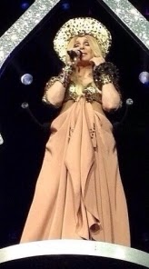 Cher singing 'I Hope You Find It' on her 'Dressed To Kill Tour'