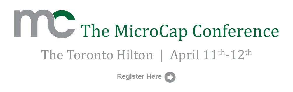 Microcap Conference Toronto