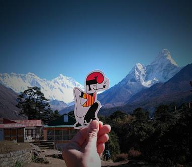 La muntanya més alta del món.