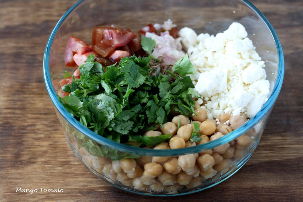 ... red onion and tomato chickpea salad with red onion chickpea salad