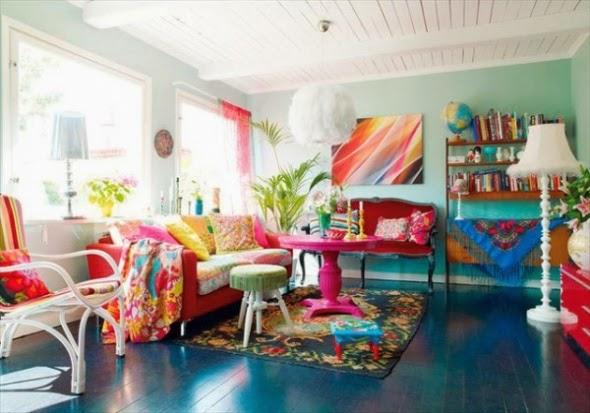 1 صور صالونات و غرف جلوس بالوان زاهية