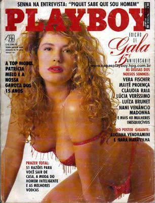 Patrícia Melo - Playboy 1990