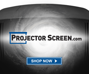 "Over 40,000 <a href=""https://www.projectorscreen.com/"">Projector Screens</a> and More!"