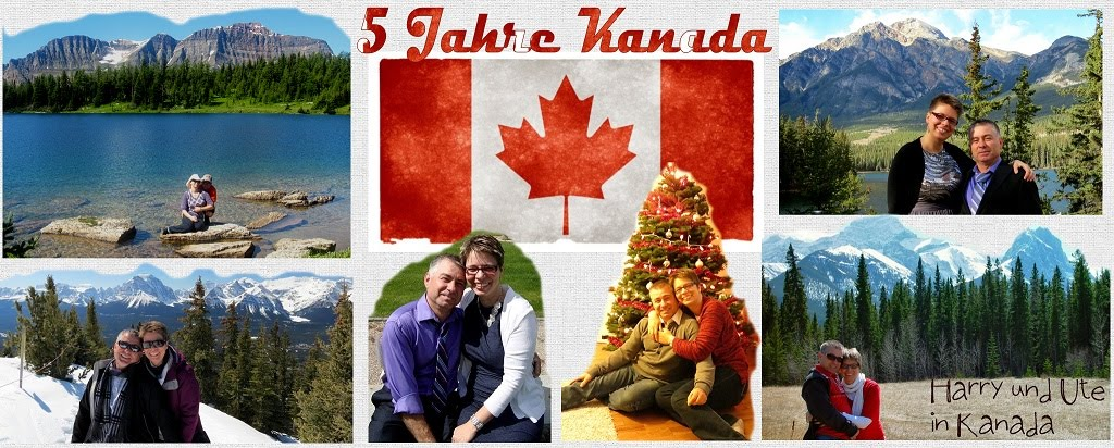 Harry und Ute in Kanada