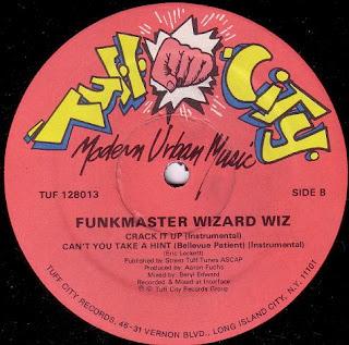 Funkmaster Wizard Wiz – Crack It Up 12' (1986) (320kbps)