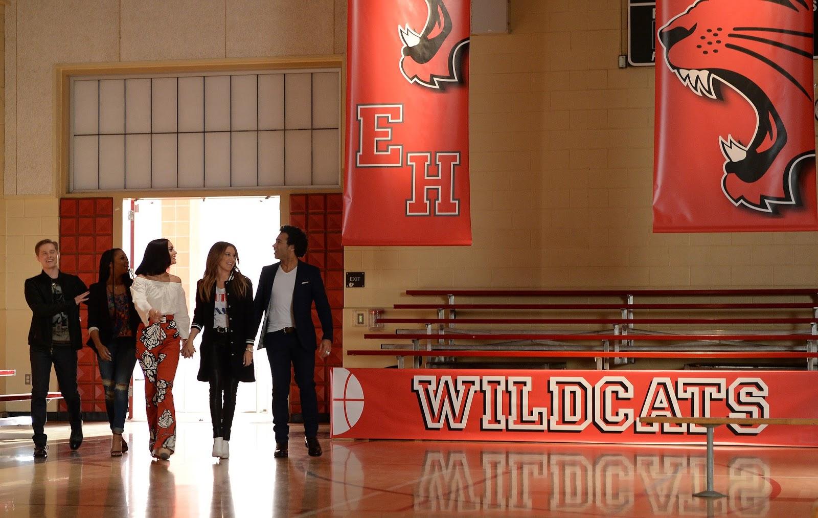 Se reunió el elenco principal de High School Musical