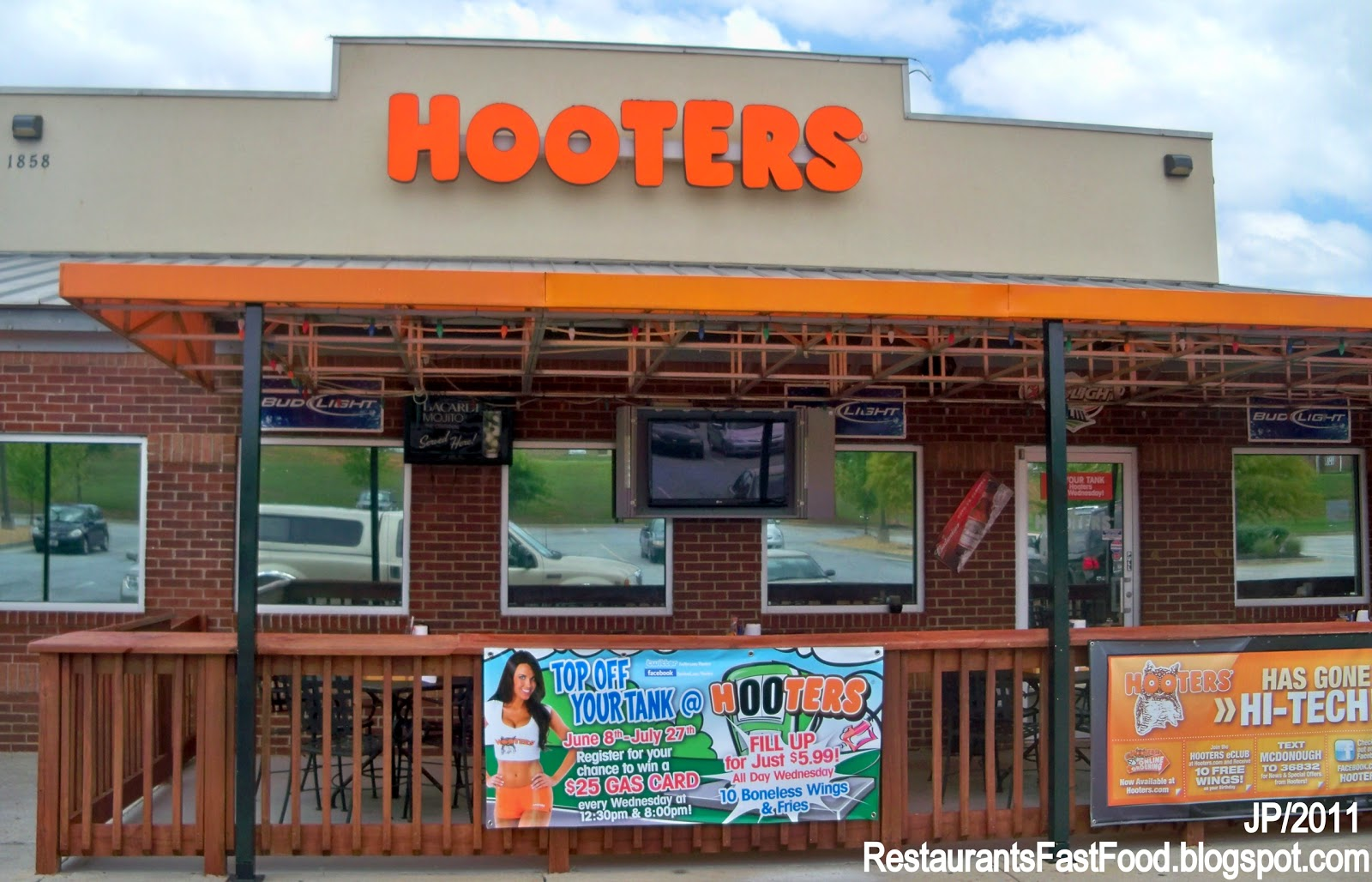 at I-75  Hooters Hot Wing Restaurant Bar Henry County McDonough GAHooters Restaurant Building