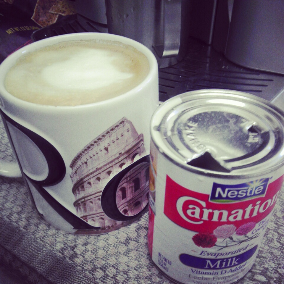 How to Make Cafe Con Leche photo