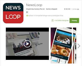 aplikasi berita newsloop