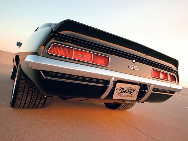 Chevrolet Camaro Ss 1969 Wallpaper