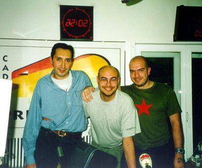 Manuel Martín, Guillem Caballé y Carlos Ulloa en Game 40