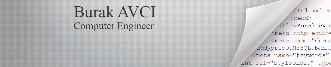 Burak AVCI - Teknoloji ve Kişisel Blog