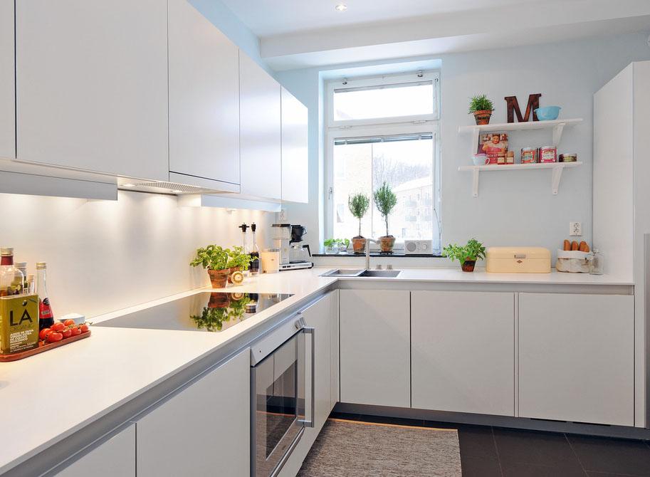 Decora o 40 cozinhas brancas em v rios estilos cores - Azulejos para cocinas blancas ...
