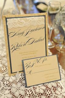 stylish scribe wedding stationary