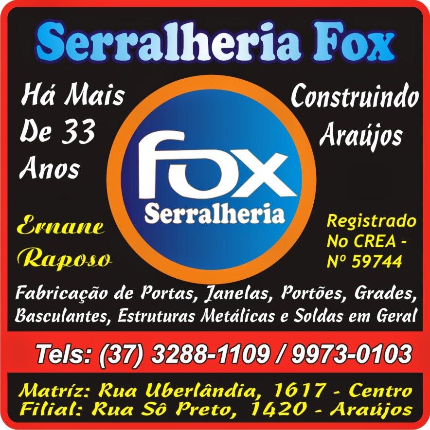 Fox Serralheria em Araújos