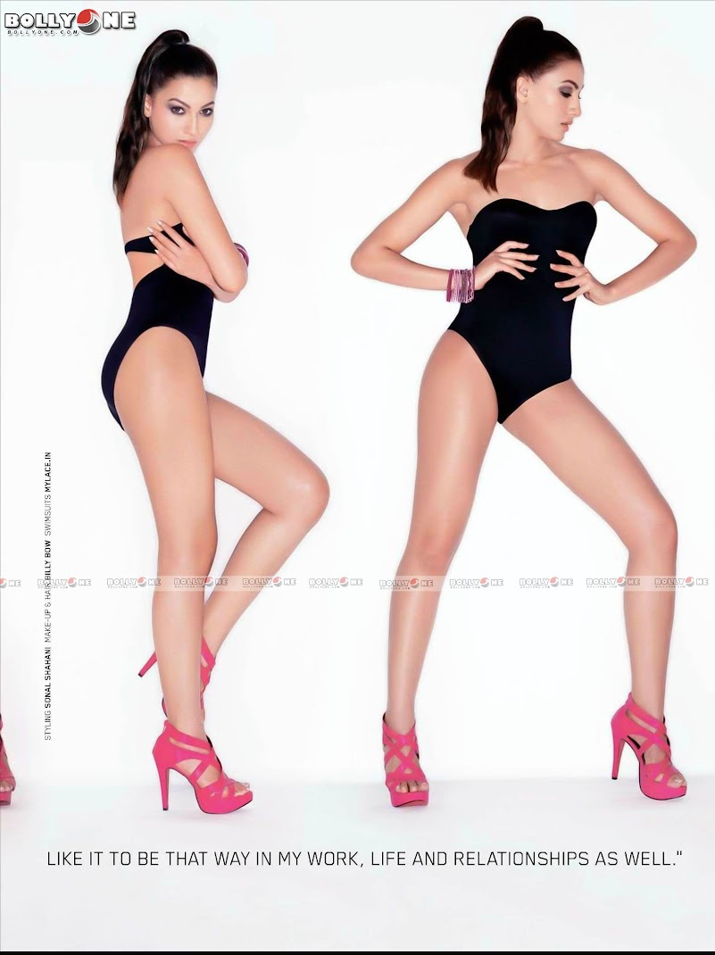 Gauhar Khan Maxim Magazine November 2011 HQ Pictures
