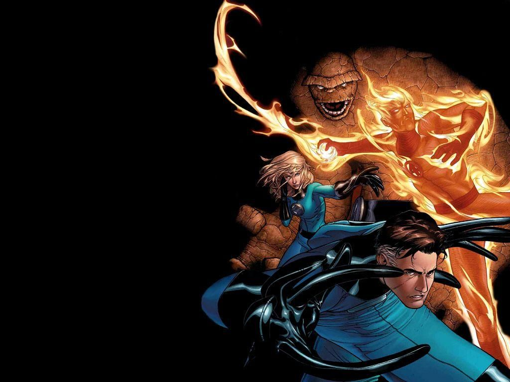 fantastic four wallpapers cartoon wallpapers
