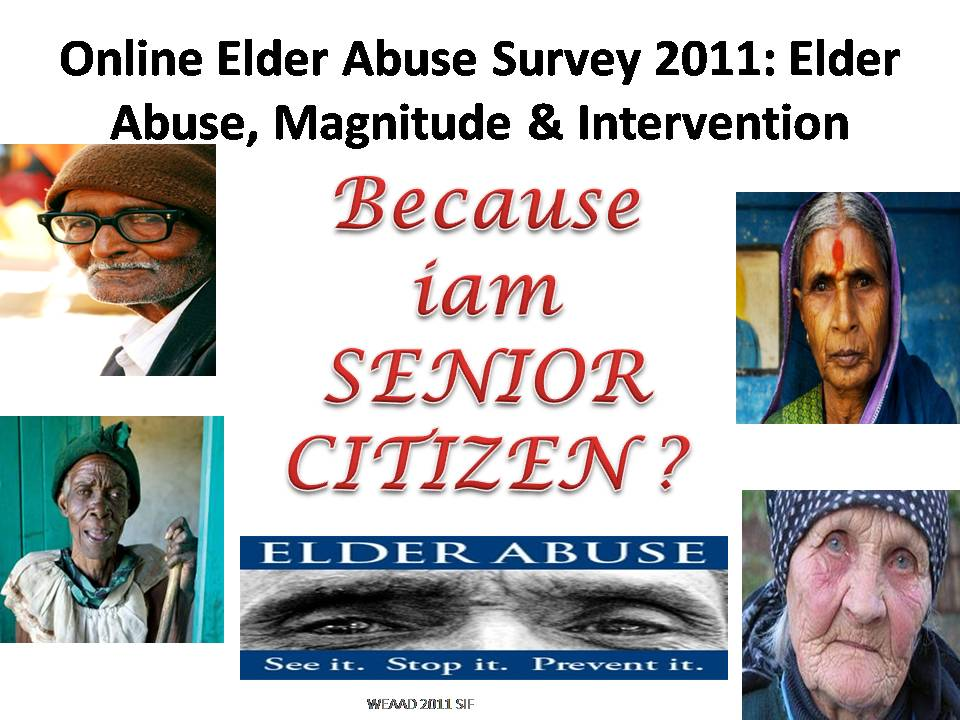 elder abuse 3 essay Elder abuse: indicators and examples susan beerman the vignettes presented in this article are compilations of true stories of abused and neglected elderly men.