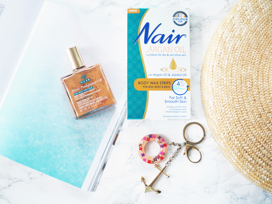 Nair Argan Oil - my summer skin essential