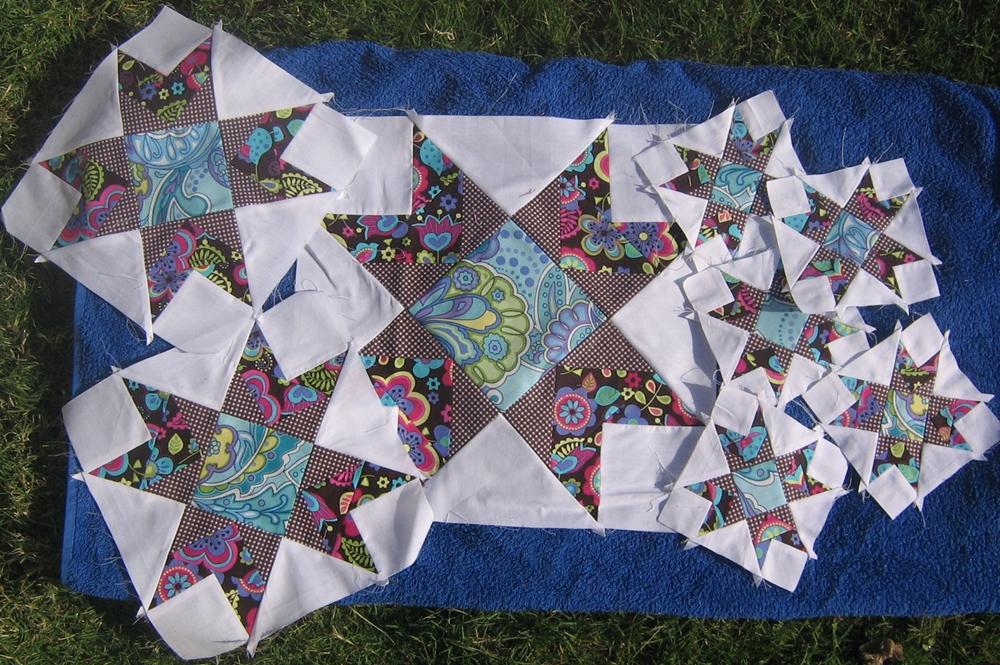 Quilt Pattern Radiant Star : Hunnigirl Quilt Designs: Oh My Stars Update