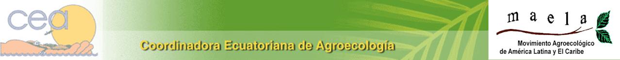 COORDINADORA ECUATORIANA DE AGROECOLOGIA
