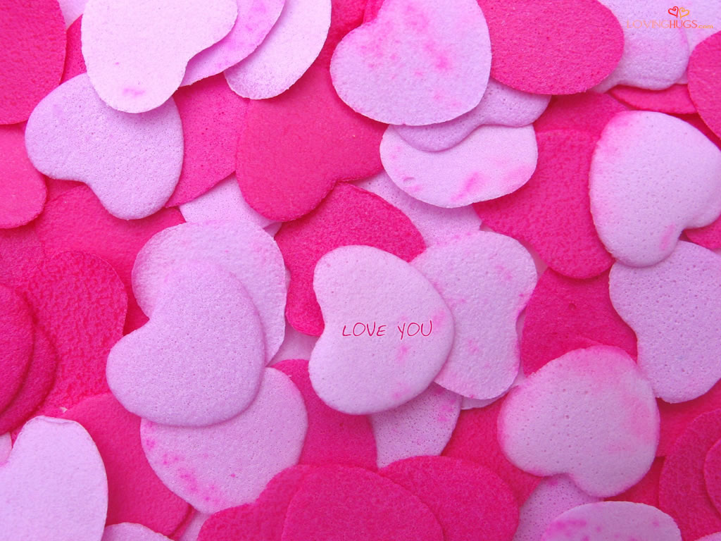 Love Wallpaper Pick : Damien Wallpapers: Love Pink Wallpapers