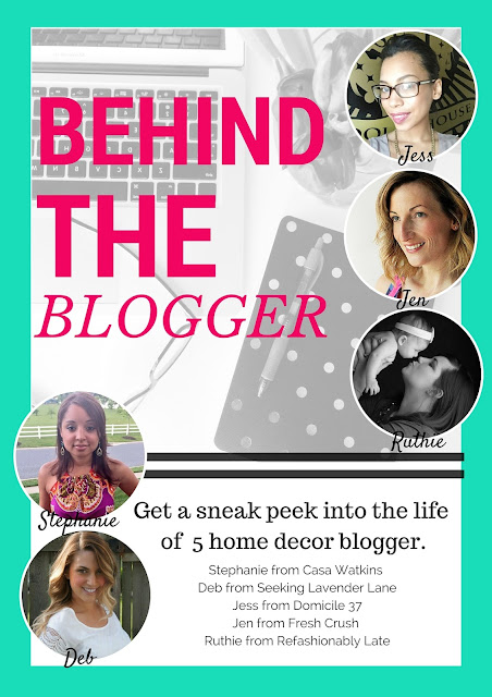 Blogging series sharing what life is like behind the blog