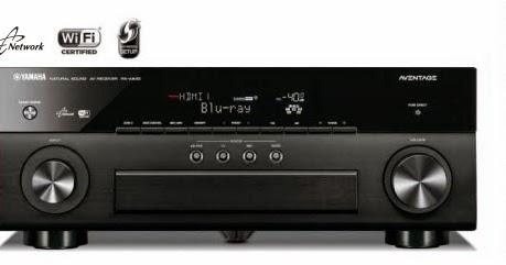 News yamaha aventage 2015 av receiver lineup for Yamaha multi room receiver