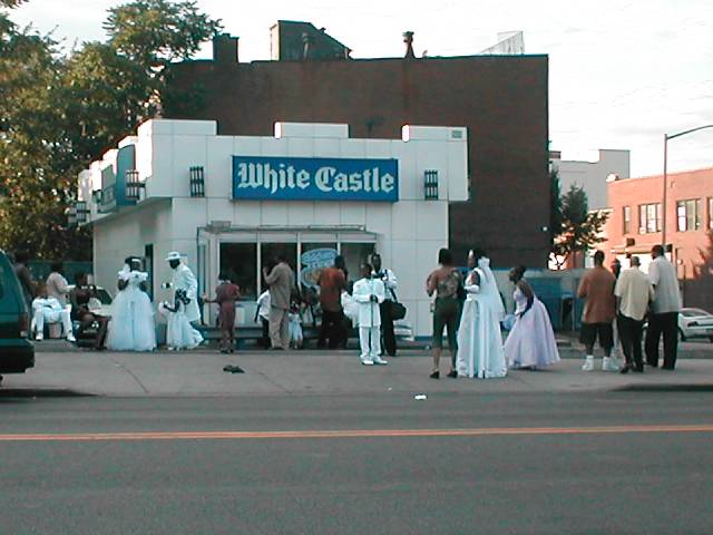 White Castle always is a ghettho eatery