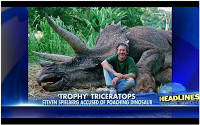 http://insider.foxnews.com/2014/07/12/animal-activists-angry-steven-spielberg-poaching-%E2%80%A6-triceratops