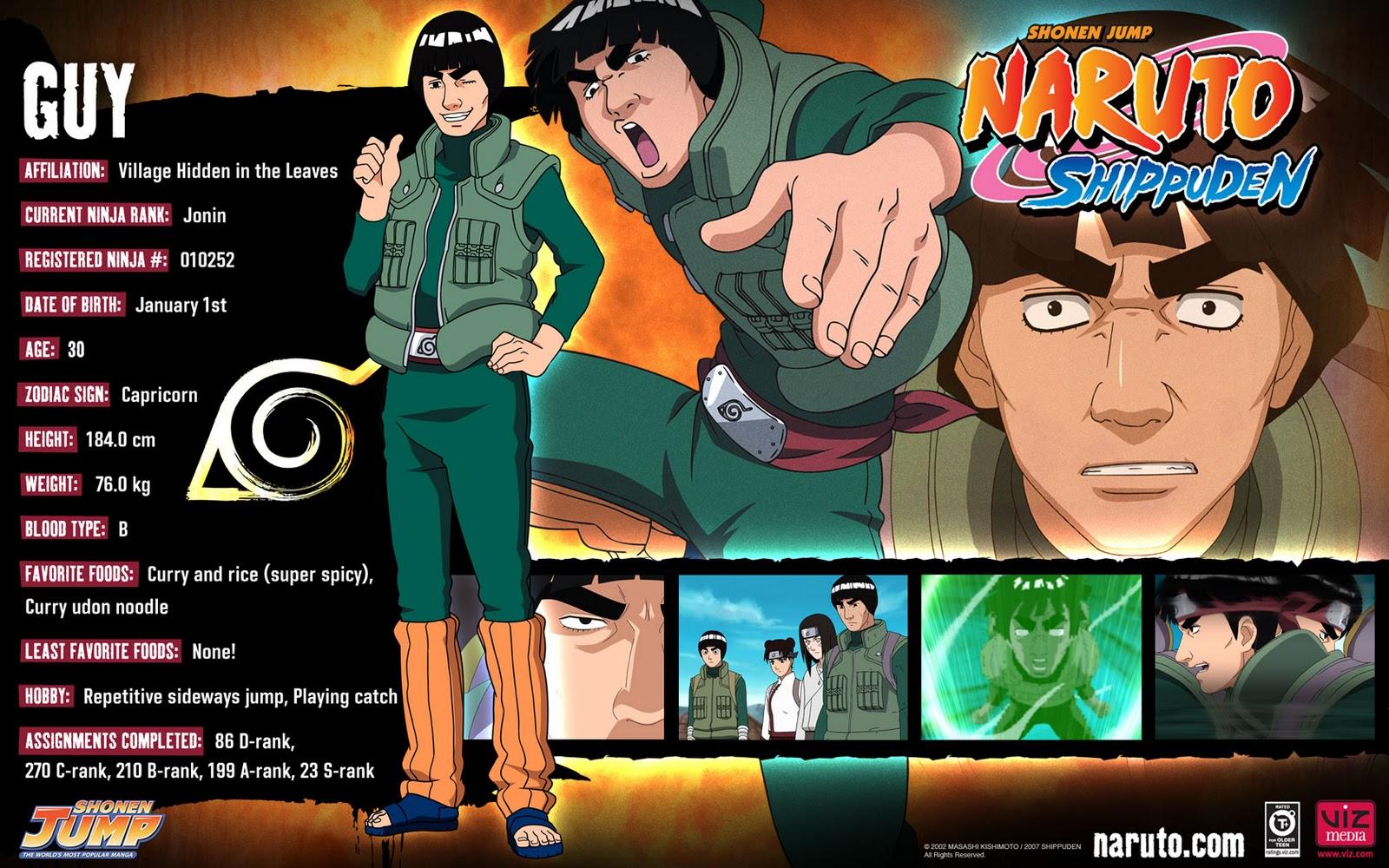 Naruto Shippuden Characters Bio naruto shippuden 2012:...