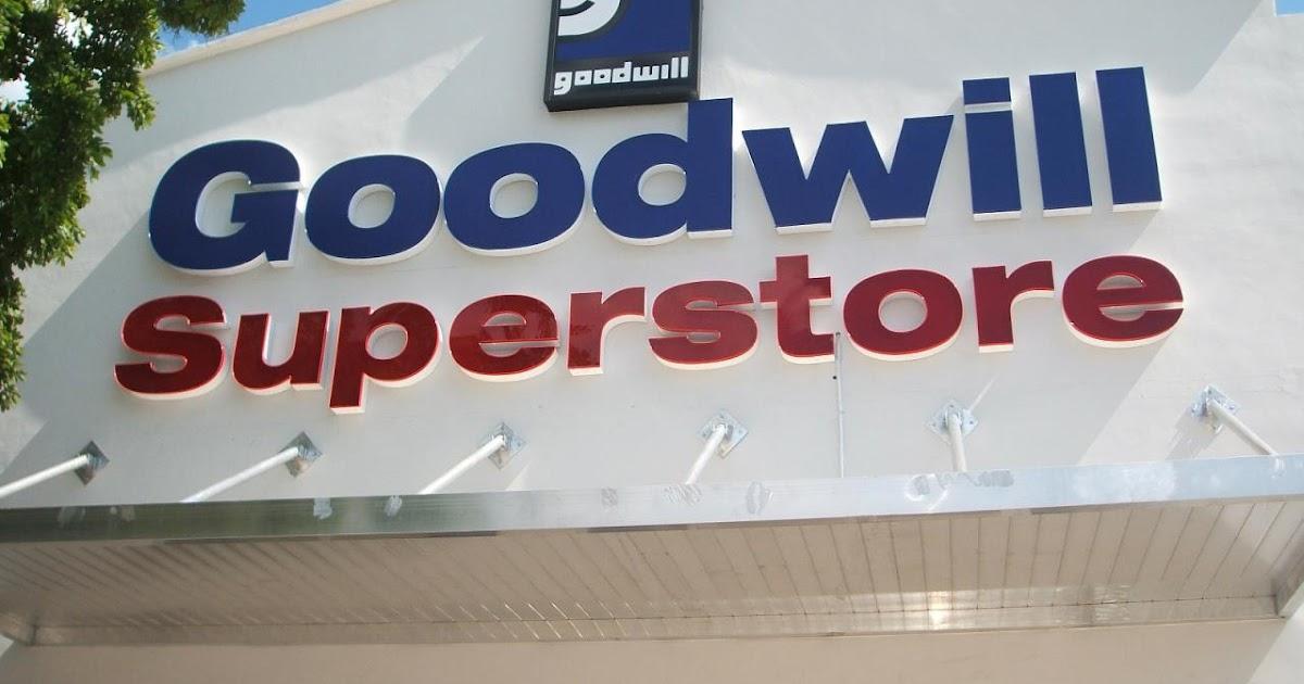 Goodwill Store: loja tipo brechó com bons produtos e preços irrisórios