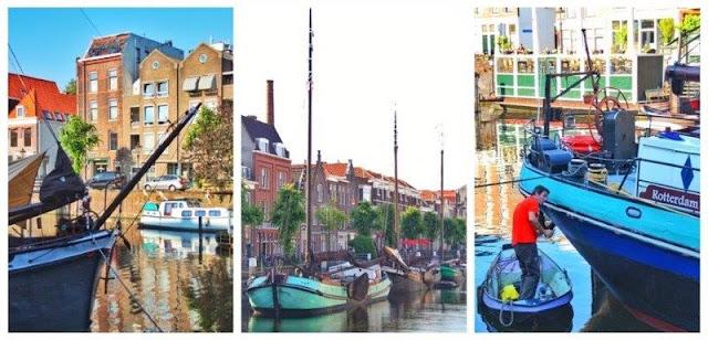 Delfshaven en Rotterdam – Barcos