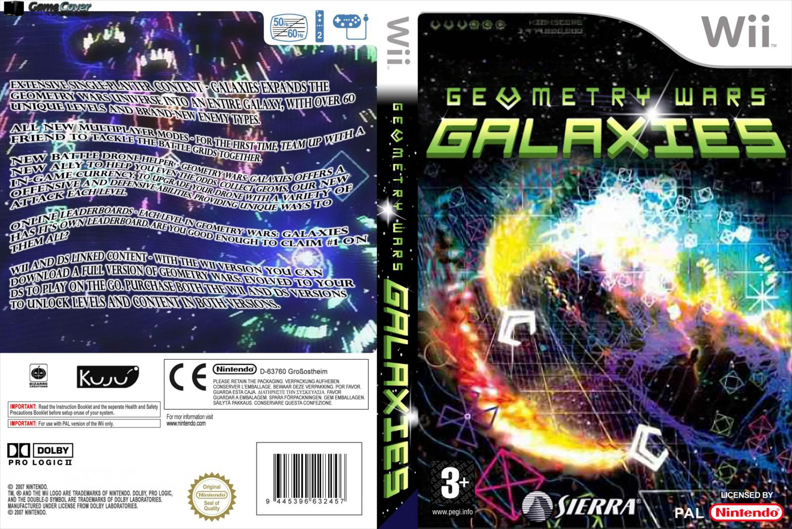Games de Wii convertidos para Wii U  Geometry+Wars+Galaxies