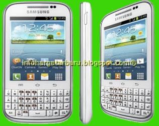 Gambar Samsung Galaxy Chat Samsung Galaxy Chat Harga Dan Spesifikasi