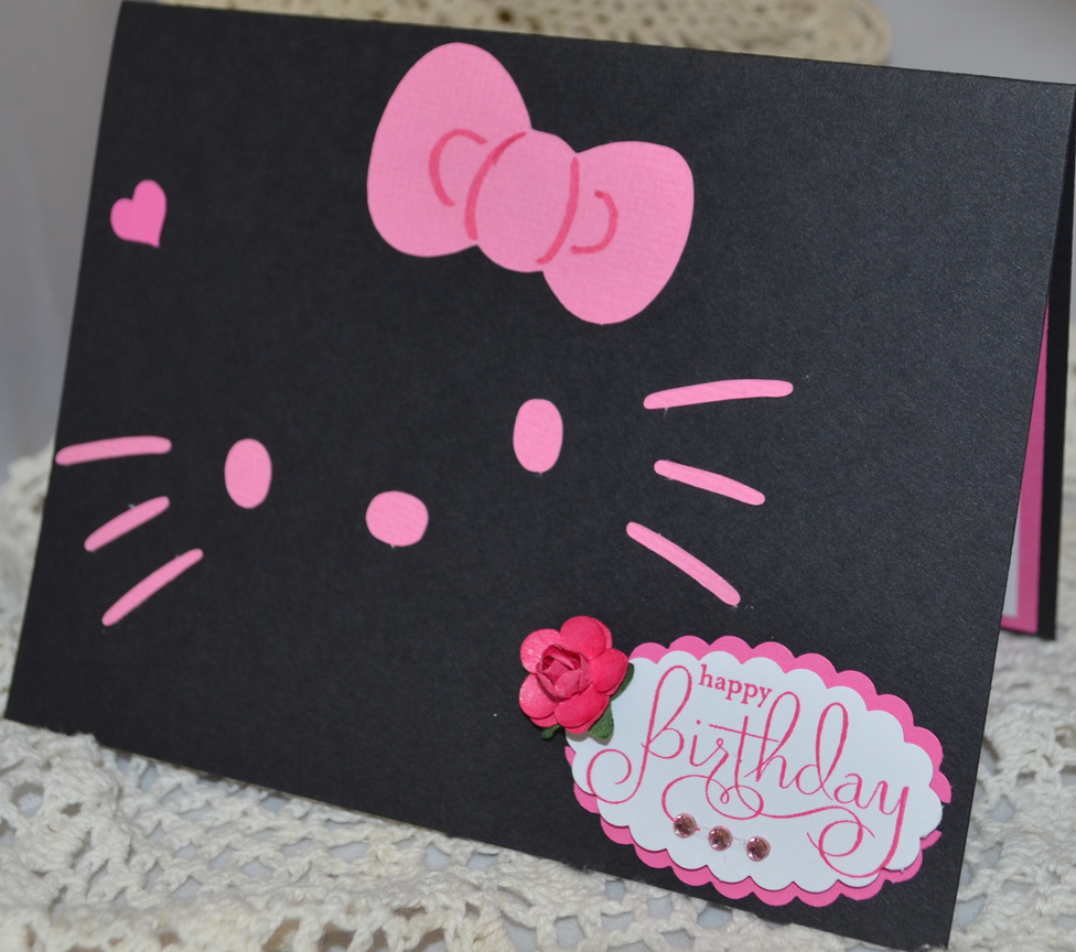 Simply sweet addictions hello kitty cards creations 9272012 m4hsunfo