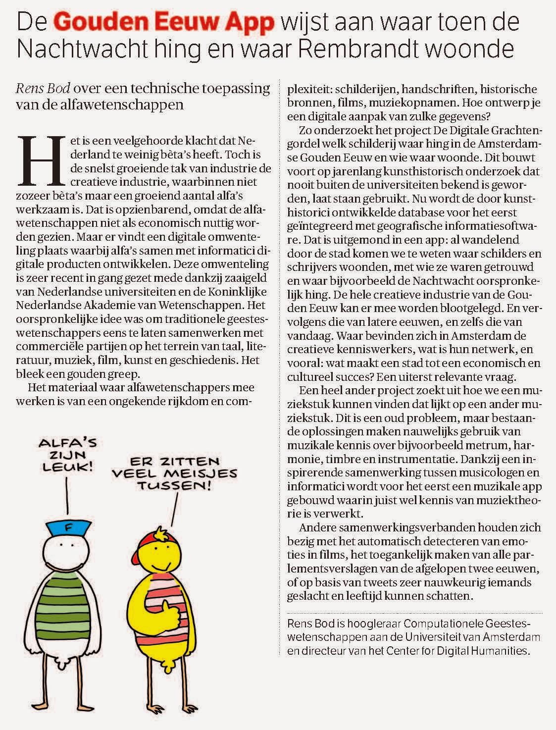 Beste Idee Van Nederland 2013 Het Beste Idee Van 2013