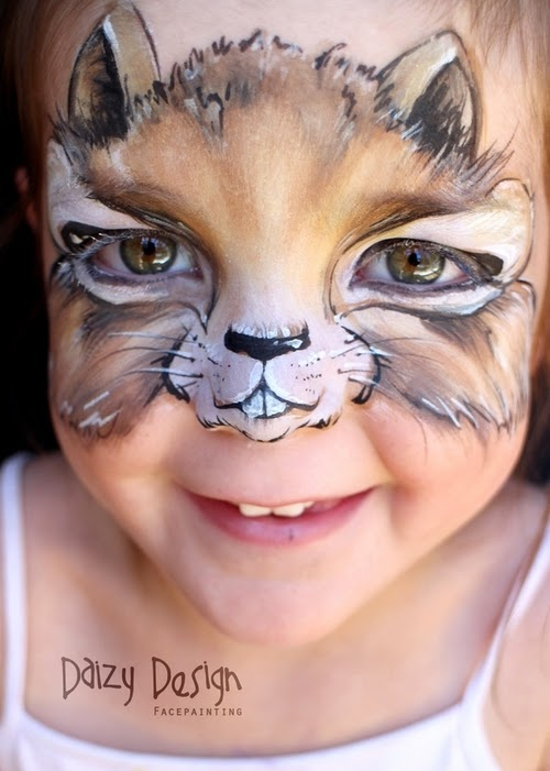 13-Christy Lewis Daizy-Face Painting - Alternate Personalities-www-designstack-co
